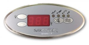 Davey SP601 Oval Touchpad and Overlay