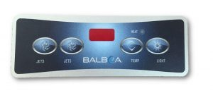 Balboa VL401 Overlay 4 Button (2 Pumps)