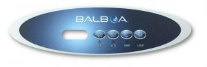 Balboa VL260 2Pump Overlay ONLY