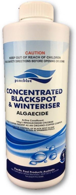 Pureblue Concentrated Blackspot & Winteriser Algaecide 1Ltr NON-DG