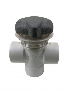 Edgetec Diverter Valve 50mm-Grey