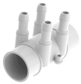 Manifold - Air - 4 Port - 25mm x 10mm(side by side)