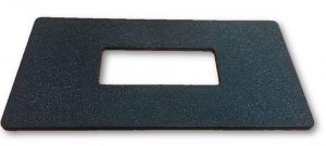 Touchpad Adapter Plate - Rectangular Cut Out