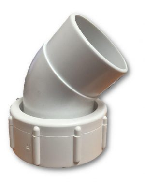 50mm 45 Degree Elbow With Pump Union