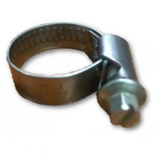 PACK OF 25 Stainless Steel 16mm – 27mm Worm Drive Hose Clamp