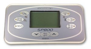Davey Spa-Quip SP800 Rectangular Touchpad and Overlay 10m Lead