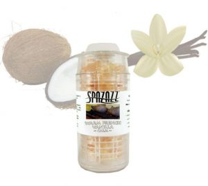 Spazazz Beads Warm French Vanilla (Calm) Aromatherapy 0.5oz/15ml