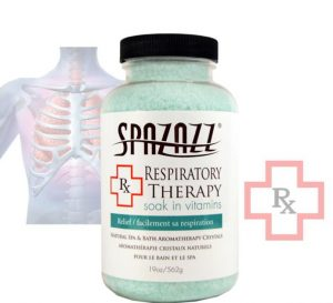 Spazazz Crystals RX Respiratory Therapy (Relief) 19oz/562g