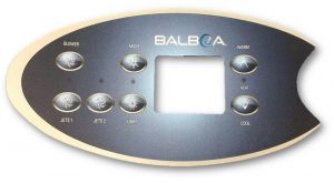 Coast Spas - Balboa VL702S Touchpad and 2pump + Blower Overlay