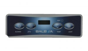 Balboa VL401 Overlay 4 Button