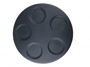 Esky Round Lid Grey with 5 Hole Indentations