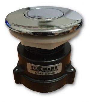 Tecmark Chrome Flush Mount Air Button