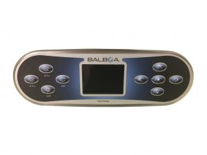 Balboa TP800 Touchpad and overlay