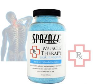 Spazazz Crystals RX Muscle Therapy (Hot 'n' Icy) 19oz/562g