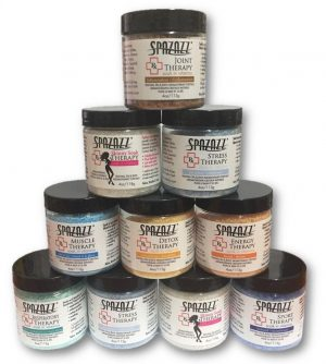 Spazazz RX Therapy Aromatherapy Crystals Sample Pack (10 Pieces)