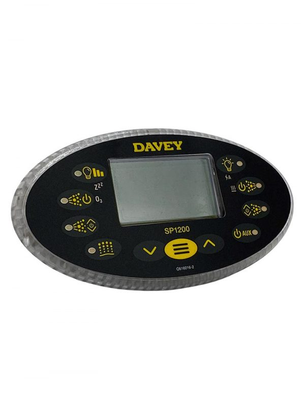 Davey Spa-Quip SP1200 Oval Touchpad and Overlay