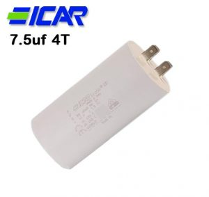 ICAR 07.5uf Capacitor, Quick Connect