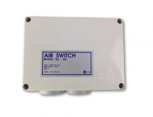 Double Outlet 10amp Air Switch Box