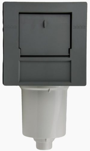 CMP 50sqft Front Access Filter Assy - Graphite Grey